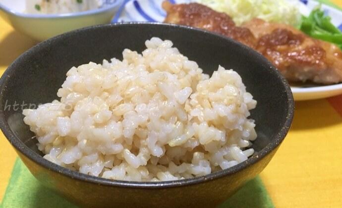 土鍋玄米ご飯