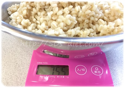 もち麦10割ご飯